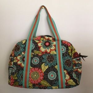 Vera Bradley gym or baby tote bag